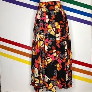 NEW Free People floral skirt